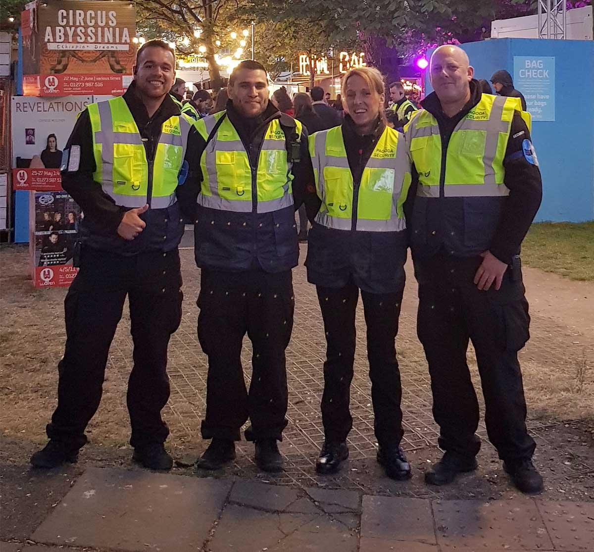 Pagoda Security Staff