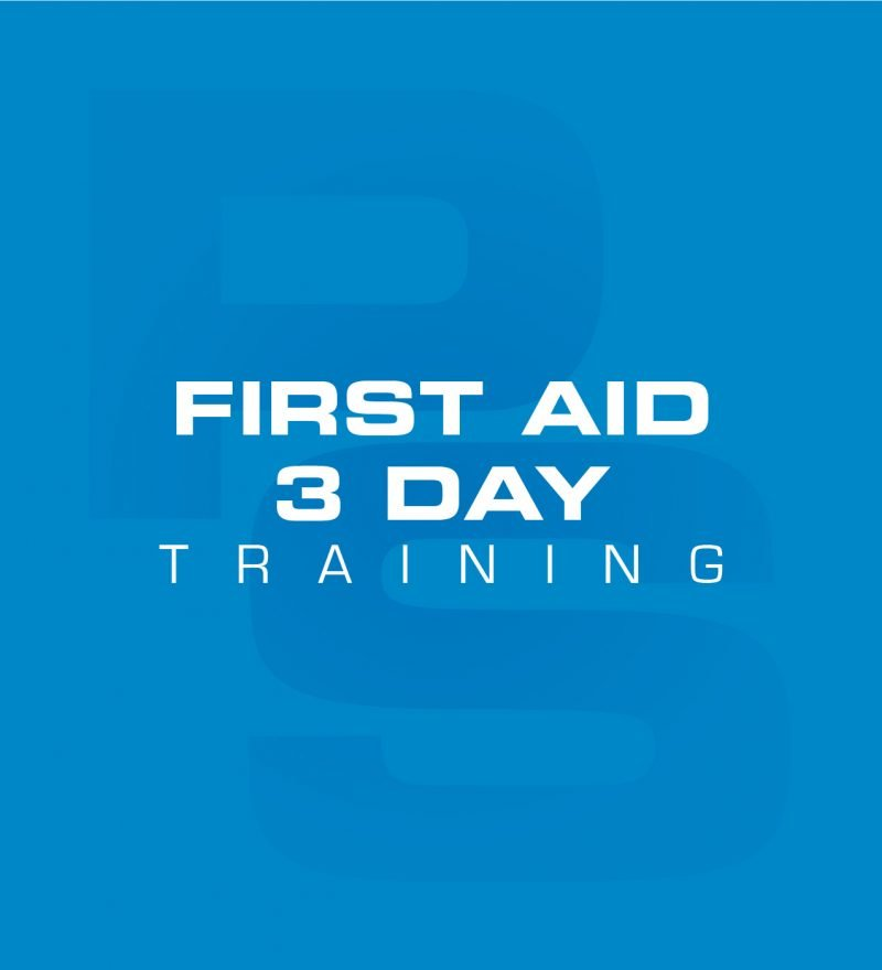 First Aid 3 Day Training Course logo